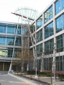А это - само здание компьютерного факультета
