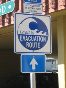 Кстати в этом году тут даже цунами было, хоть и маленькое.