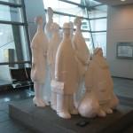 Скульптура в аэропорту