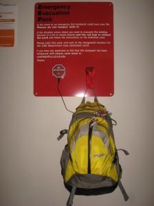 Рюкзак с самым необходимым на случай эвакуации или атаки зомби