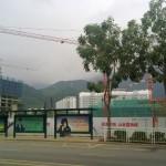 В городе идет активное строительство