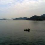 Вид с палубы на окружающие острова