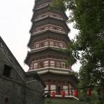 Пагода в храме Liurong
