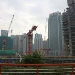 Активное строительство