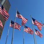 Любовь жителей Штатов к государственному флагу воистину безгранична!