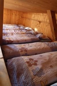 Спальные места в Cabane de Susanfe