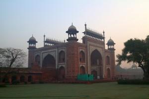 Ворота к мавзолею