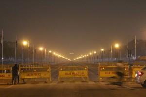India Gate вдалеке
