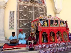 Раджастанские марионетки