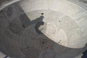 Инструмент для определения положения солнца на небе