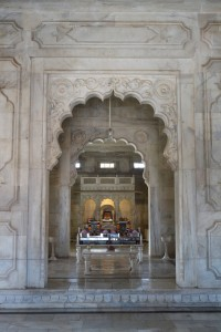 Внутри мавзолея