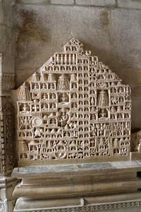 Палитана - священное гнездо джайнистских храмов (здесь её условное изображение)