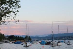 Озеро Цюрих